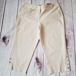 NWT | Rafaella | Curvy Capri | Size 14